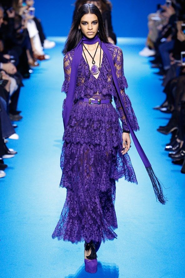 See the Elie Saab autumn/winter 2016 collection. Click through for full gallery at vogue.co.uk