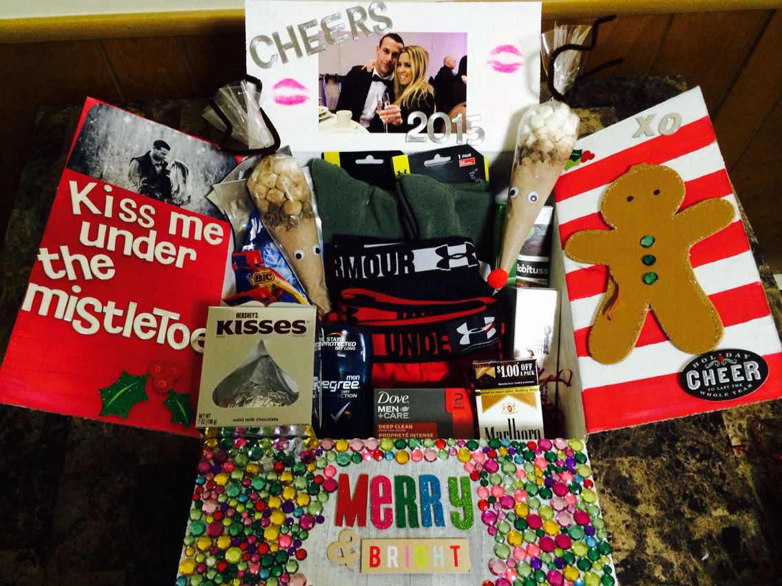 Christmas & New Years care package #deployment #xmas ...