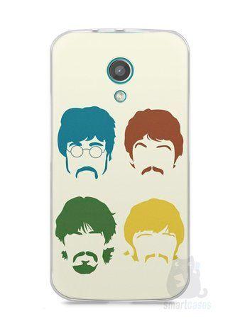 Capa Moto G2 The Beatles #1