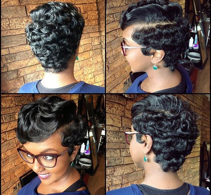 Awesome Ig Queen Nefer Brittany Full Pixie African American Hair