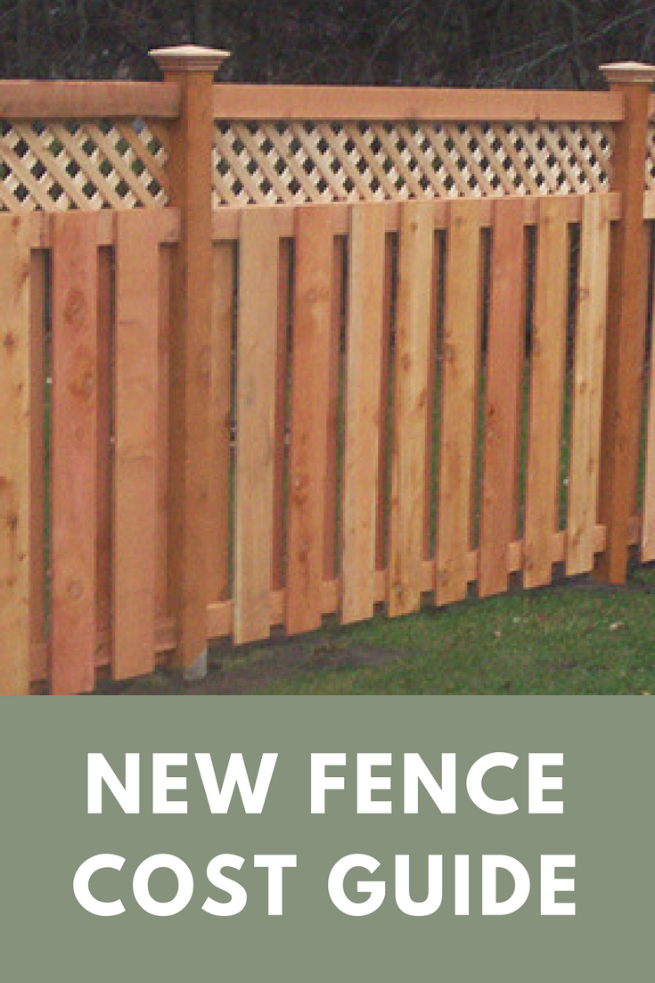 Cost To Install A Fence 2020 Average Prices Vinyl