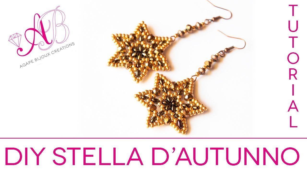 DIY Tutorial   Stella d'autunno con Twin Beads / Autumn Star