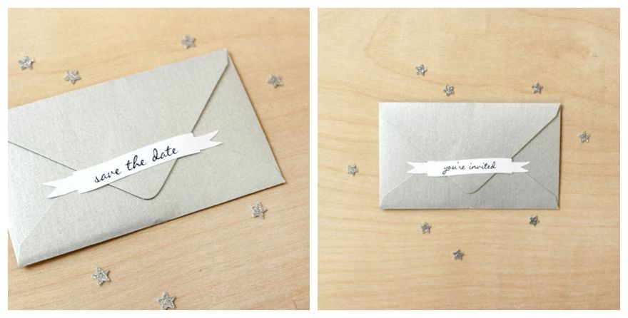 Sticker Seal Wedding Invitation Envelopes