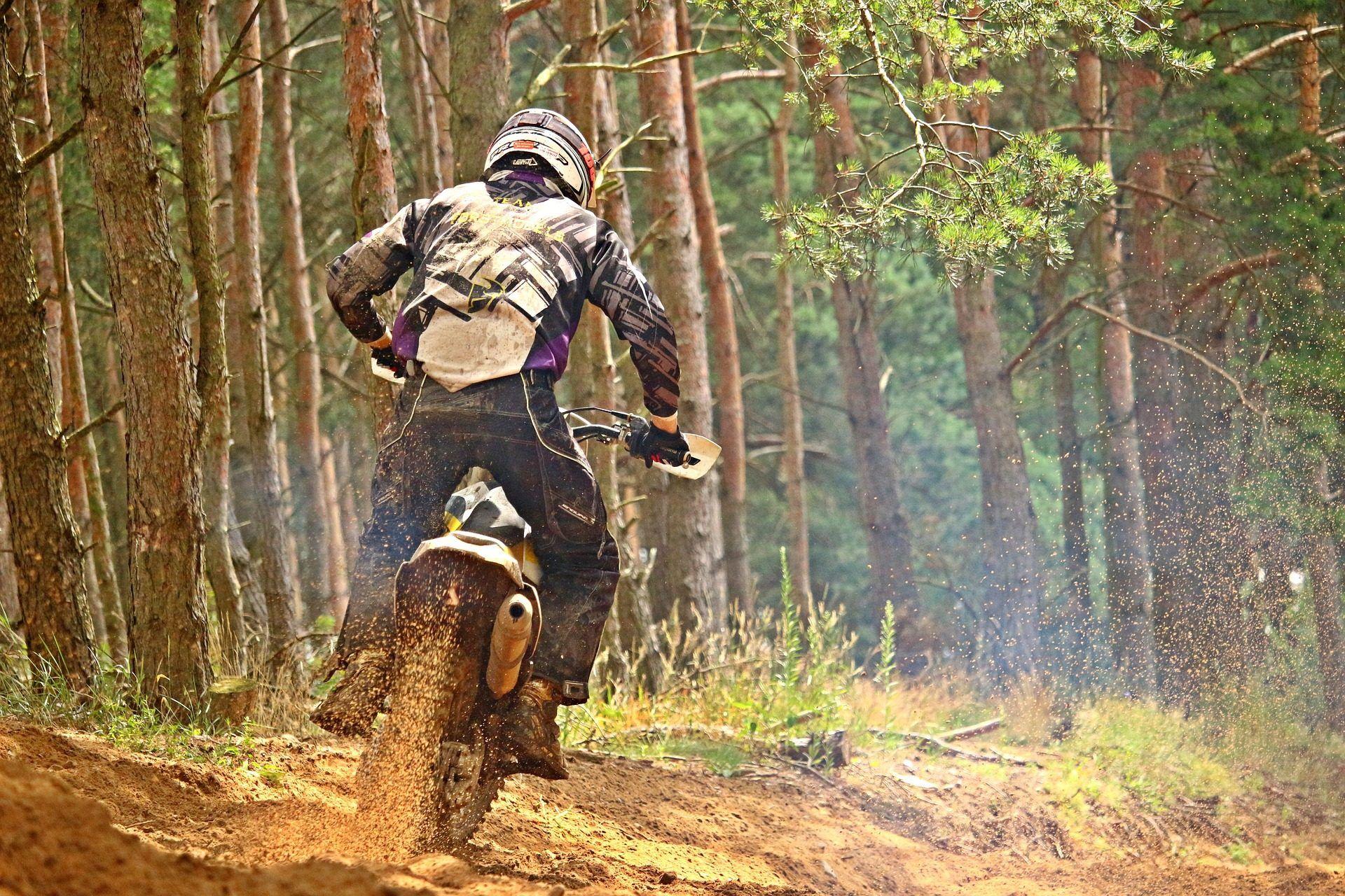 Excelente Constructor De Currículums De Motocross Ornamento ...
