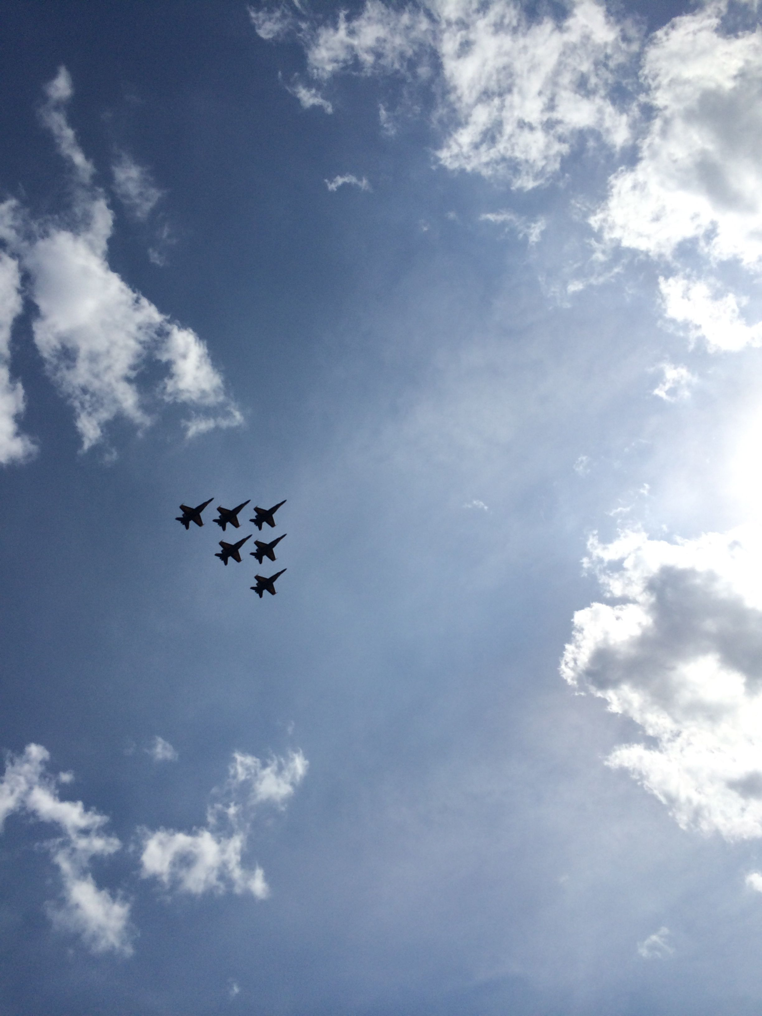 """U.S. Navy """"Blue Angels"""" perform at """"Thunder Over"""