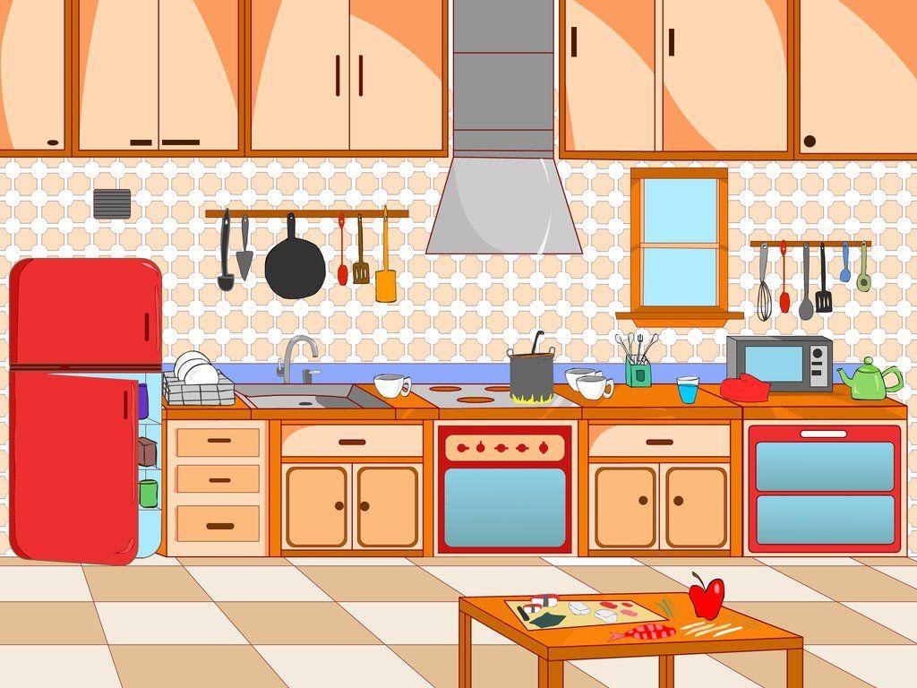Image Result For Kitchen Scene Clip Art Kitchen Pictures Free Clip Art