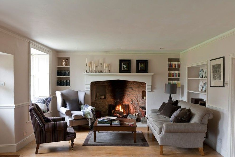 Bright Fireplace Mantel Shelf In Living Room Farmhouse With French Magnificent Farmhouse Living Room Design Ideas Design Decoration
