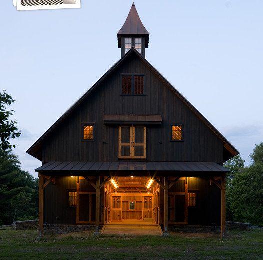Barn Shop Designs: Beautiful Barn Conversion (from Houzz.com)