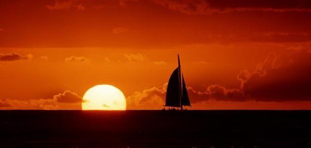 أهمية أذكار الصباح والمساء Beautiful Sunset Celestial Sunset