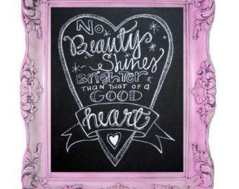 Instant Download-chalkboard art quoteNo door TheBlackandWhiteShop