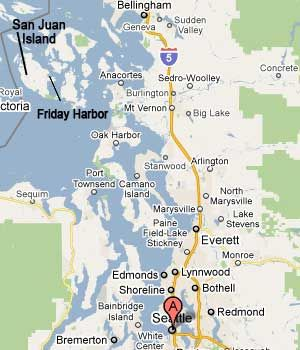 map seattle map of san juan island Vacation Spots Pinterest