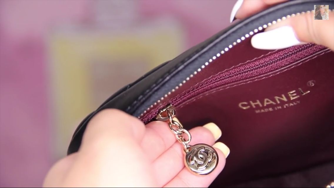 Vintage Chanel Zipper Pull Chanel Bag Vintage Chanel Chanel