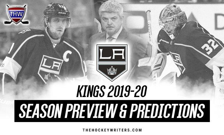 Los Angeles Kings 2019 20 Season Preview Predictions Anzekopitar Drewdoughty Dustinbrown Jonathanquick Los Angeles Kings Nhl Entry Draft Seasons