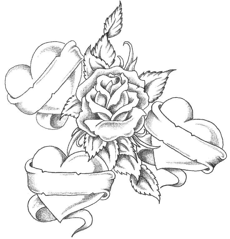 Coloring Page Tattoo
