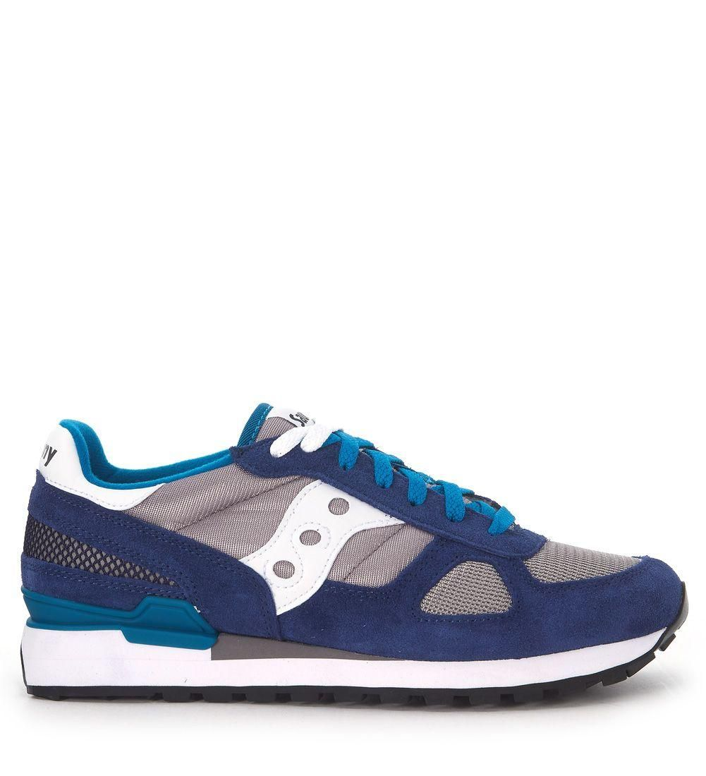 Outlet Lowest Price Saucony Sneaker Shadow in suede and net fabric women's Shoes (Trainers) in Enjoy Cheap Price sFwaA