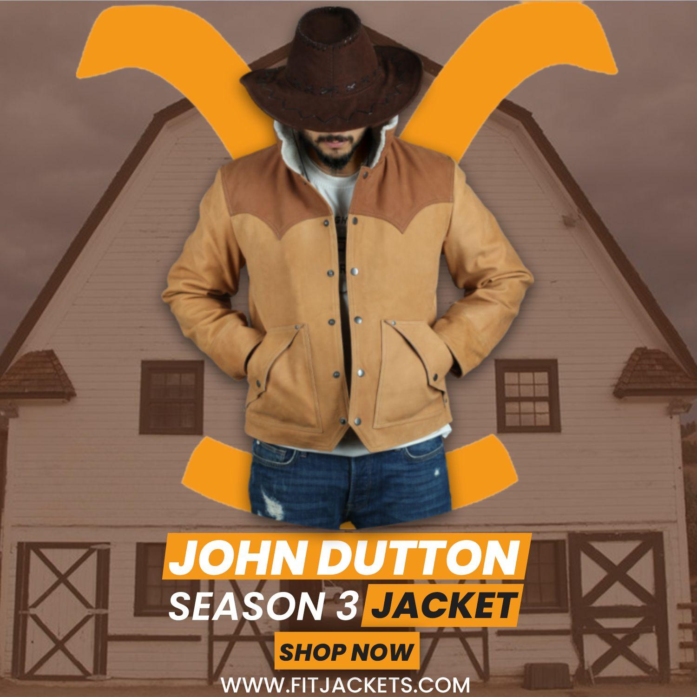John Dutton Yellowstone Season 3 Jacket Seasons Jackets Season 3 [ 1500 x 1500 Pixel ]