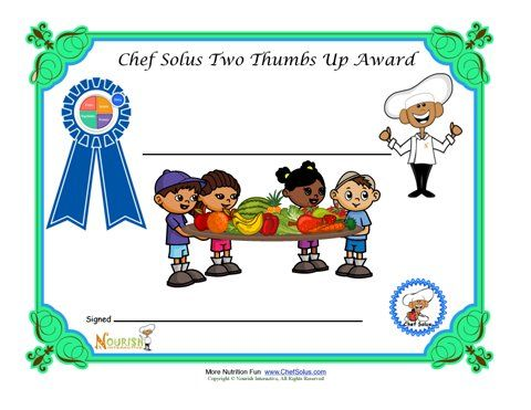 Blank Certificate For Healthy Choices For Children Good To Use