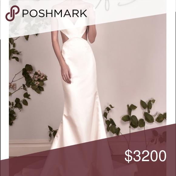 Austin Scarlett Wedding Gowns: Austin Scarlett Wedding Gown Eden Size 4 Worn One Time