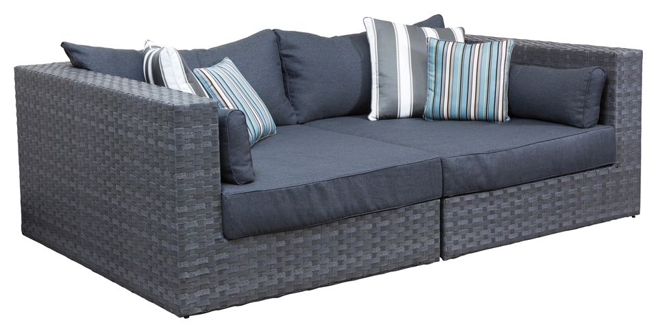 outdoor day bed hampton day bed segals outdoor furniture perth - Garden Furniture Day Bed
