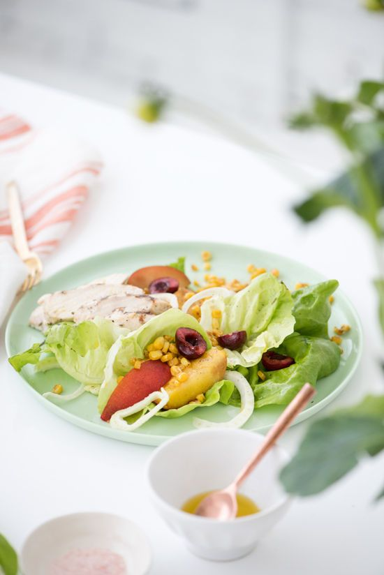 Grilled Farmers Market Salad