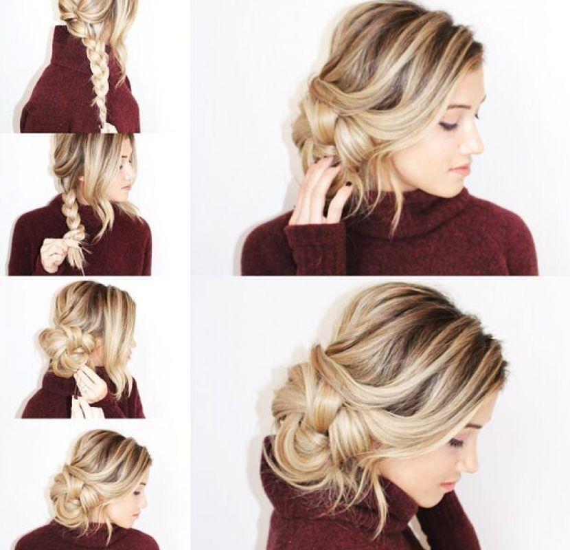 Peinados con recogido de lado