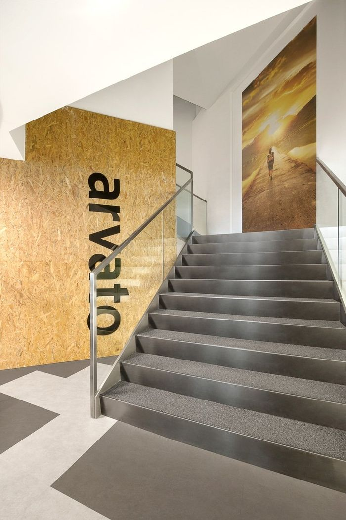 Office Tour: Arvato Bertelsmann Offices U2013 Istanbul. Office GraphicsWall  FinishesEntry ...