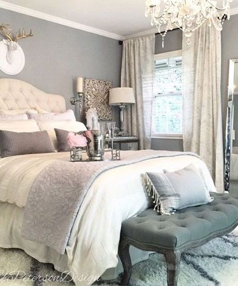 40 Gray Bedroom Ideas Romantic Bedroom Design Home Decor Home