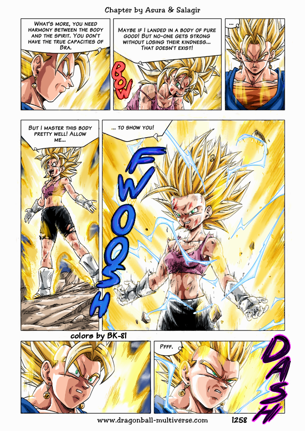 Dbm Page 1258 Coloration By Bk-81  Dragon Ball Z Gt -9334