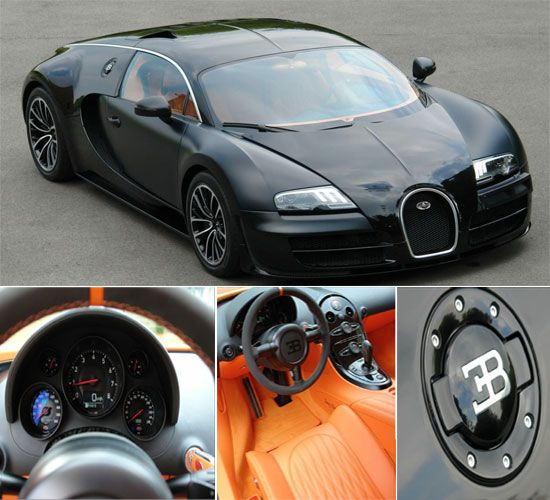 Bugatti Veyron Sang Noir Version Price Not Available Customized