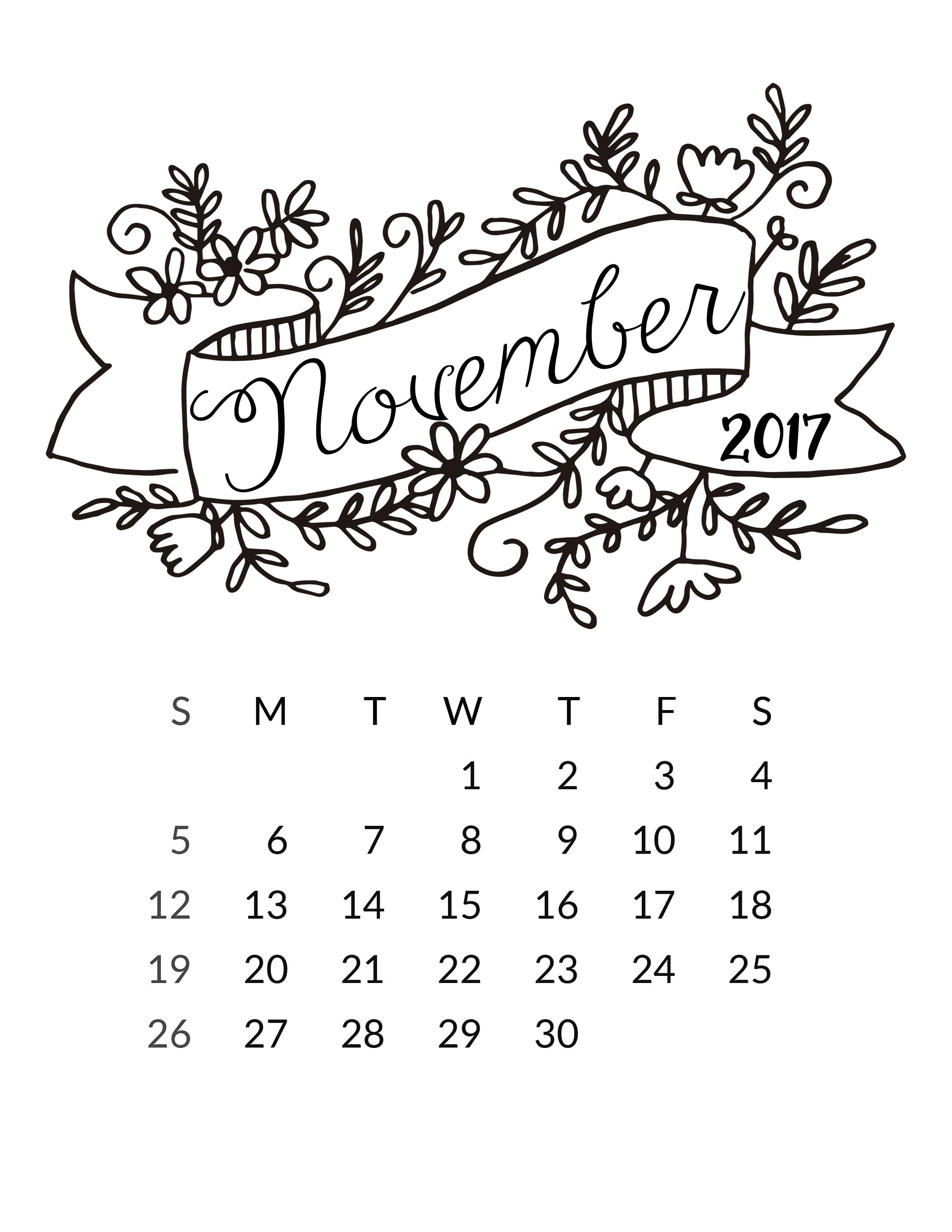 pin by nicci on baby 3 bullet journal journal bullet 2016 Calendar Nov Dec freeprettythingsforyou wp content uploads 2016 12 11 nov 2017