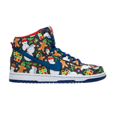 Concepts x SB Dunk Pro High GS  Ugly Christmas Sweater  2017 - AO1559 446 67492f32d41b
