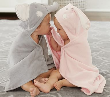 Bundle Up Your Baby After Bathtime With Cozy Wraps In
