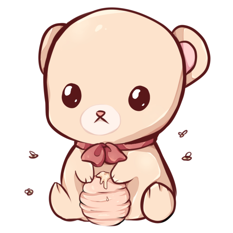 Kawaii Bear By Dessinekadeviantartcom On DeviantArt jubchay Clipart Pinterest
