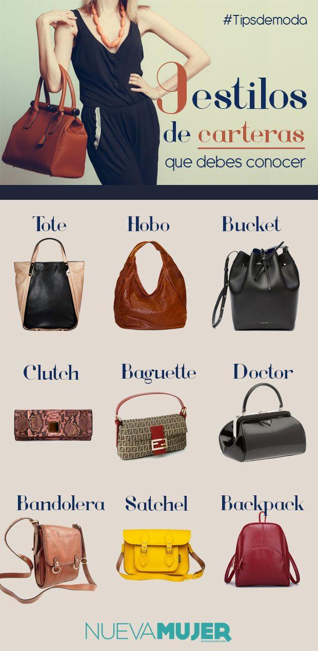 c7a6857c97a4 TOUCH esta imagen  ¿Qué tipos de carteras existen y cómo se llaman  by  Nueva Mujer