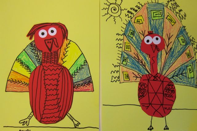second grade turkeys | Turkey art, Elementary art, Kids ...