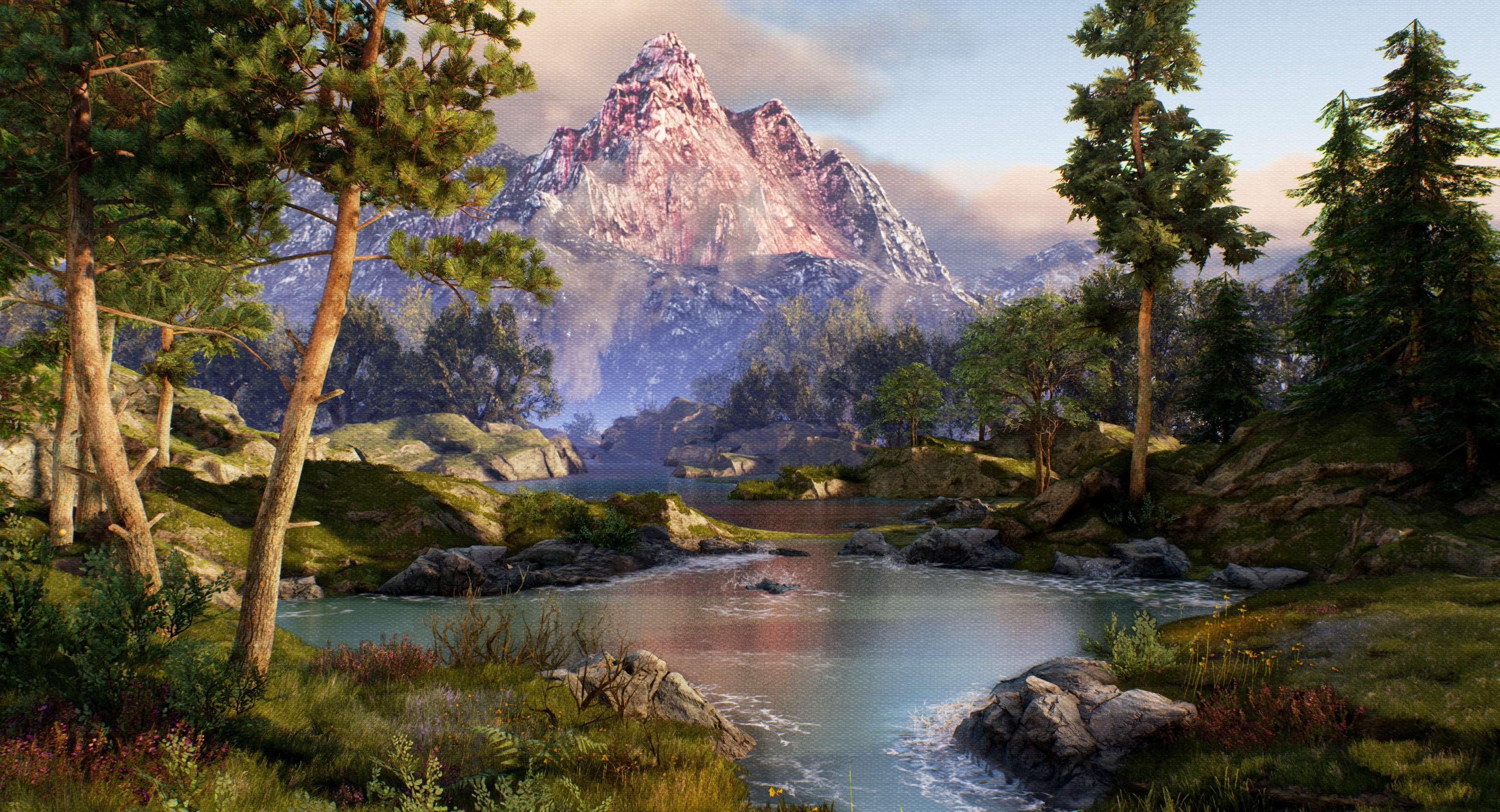 speedtree, epic games, unreal engine 4, ue4, gamedev, 3ds