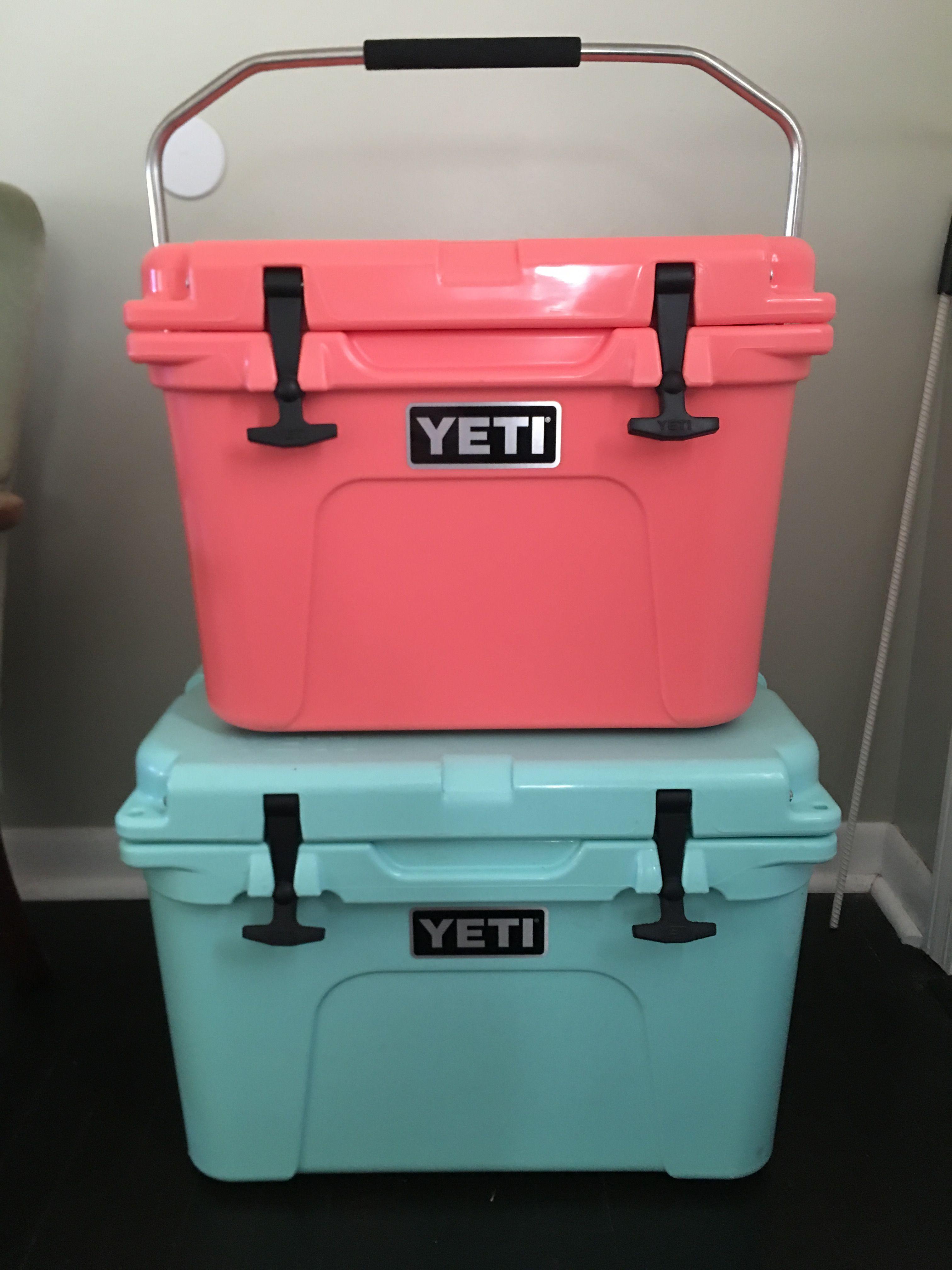 Yeti Coolers Coral And Sea Foam Yeti Cooler Yeti Coolers Yeti