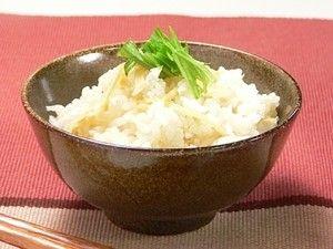 炊き込み生姜ご飯