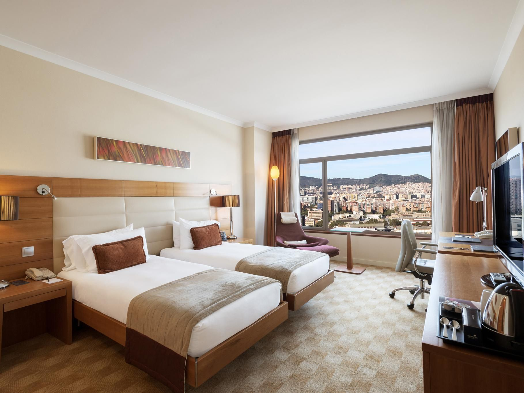Hilton Diagonal Mar Barcelona Hotel Spain
