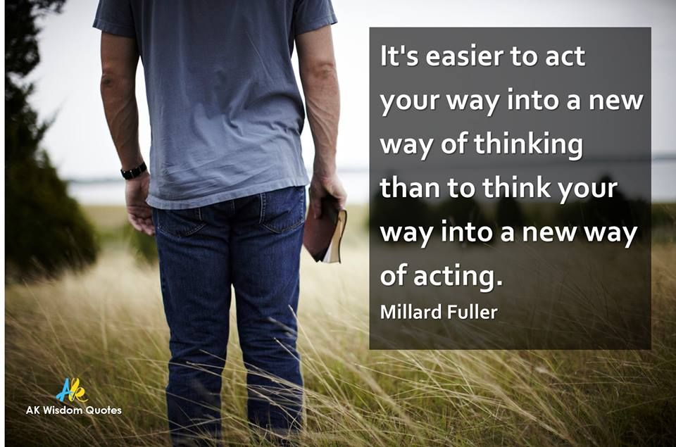 If you do not have the habit of praying, reading the bible or evangelizing, the key is to get into the action of praying, reading the bible and evangelizing. Just do these actions and you will soon adopt this new and powerful way of life!