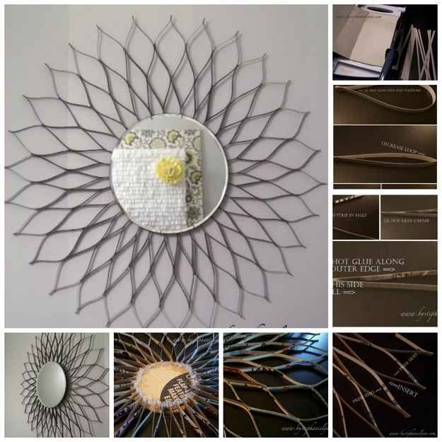 Sunburst Mirror Sunburst Mirror Starburst Mirror Cereal Box Craft