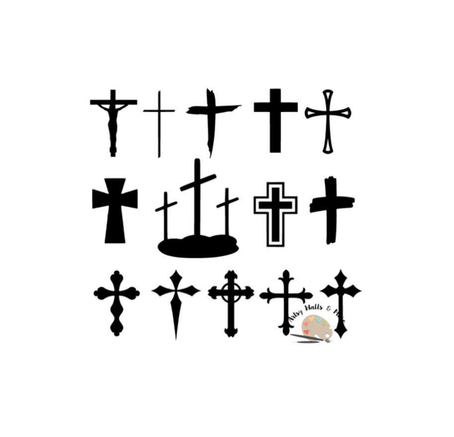 1dbb357eaf2783 Cross bundle svg CUT file