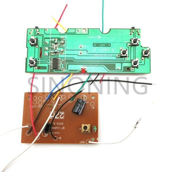 economy 6CH remote control UNIT circuit board 27Mhz PCB