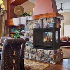 Supreme fireplace google search fireplace pinterest a three sided fireplace is a great end point to a wall or room divider see a wide selection of peninsula see through and corner fireplaces at cjs hearth teraionfo