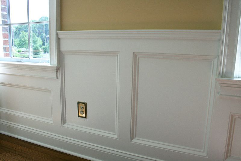 Change A Room Completely With Custom Wainscoting Dining Room