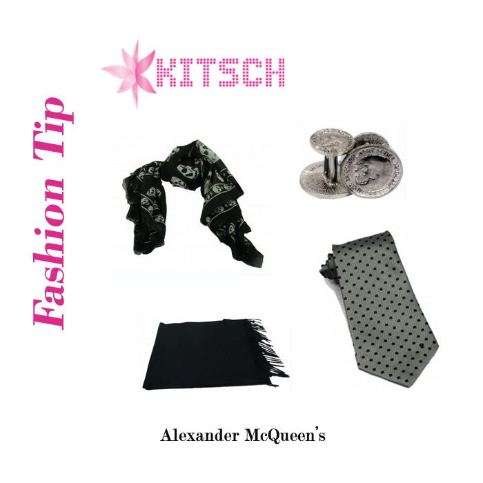 #FashionTip: In order to accentuate your look, team your outfit with accessories and look like a million bucks!! Check out Alexander McQueen's latest accessory collection at #Kitsch!!