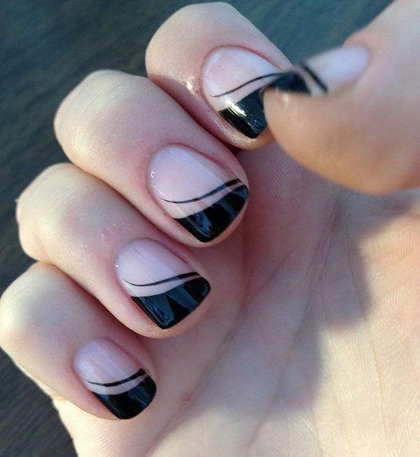 30 easy nail designs for beginners easy nail nail and makeup 30 easy nail designs for beginners solutioingenieria Choice Image