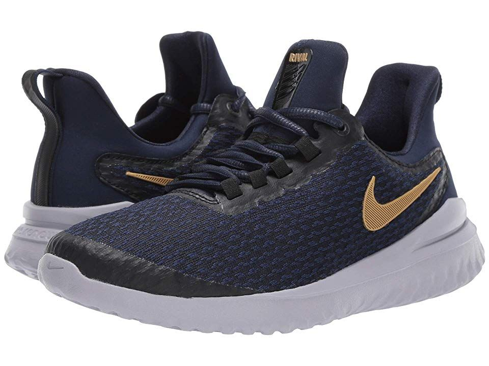 453b3221f67 Nike Renew Rival (Black Metallic Gold Obsidian) Women s Shoes. Take ...