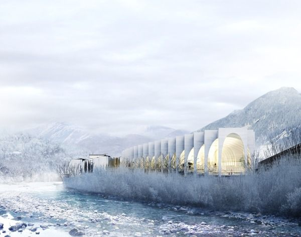 Gallery of BIG, MVRDV, Snøhetta, aMDL Unveil Proposals for San Pellegrino Bottling Plant Competition - 2