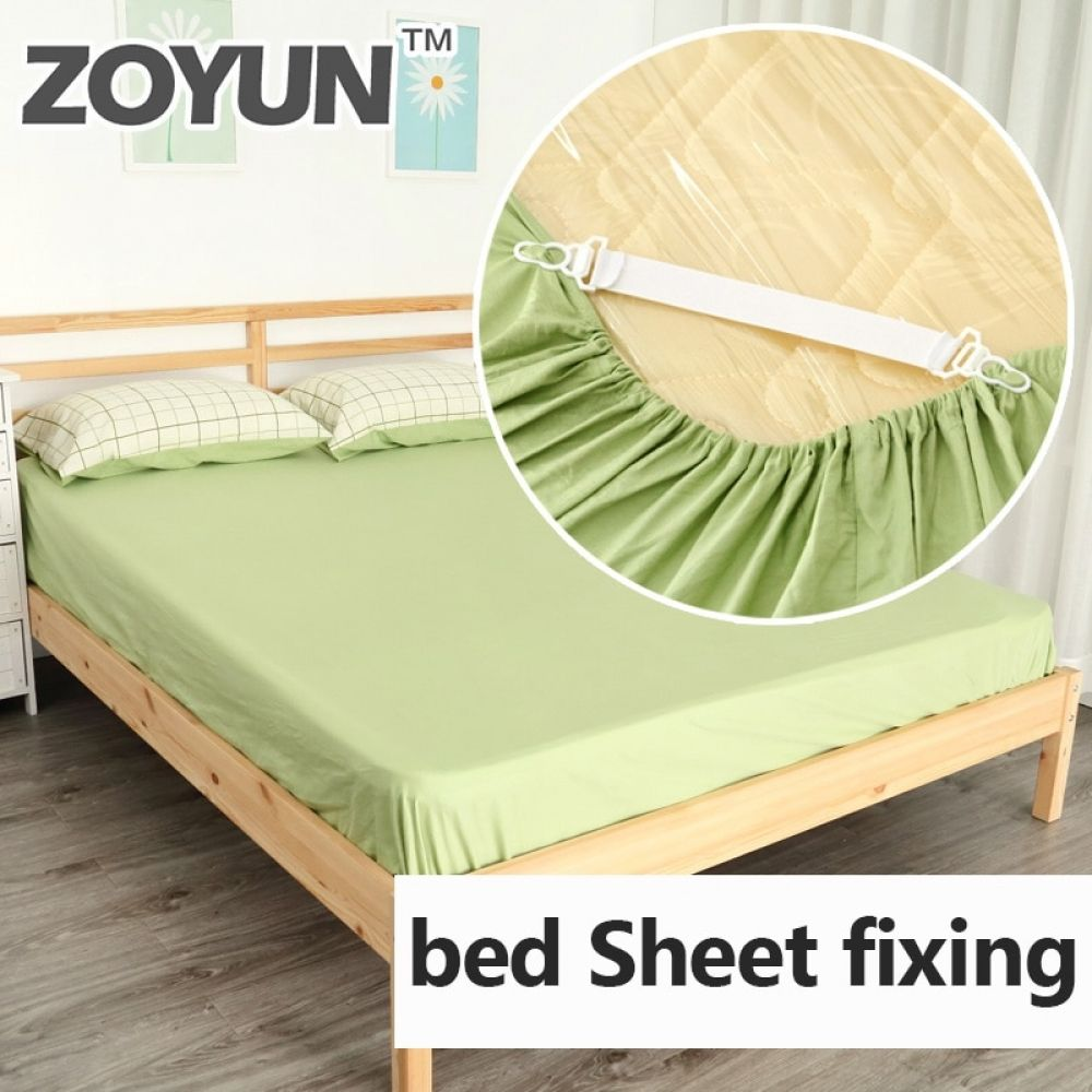 4pcs Adjustable Elastic Bed Sheet Clips Cover Grippers Holder